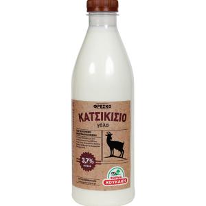 Φάρμα Κουκάκη: Φρέσκο Κατσικίσιο Πλήρες Γάλα